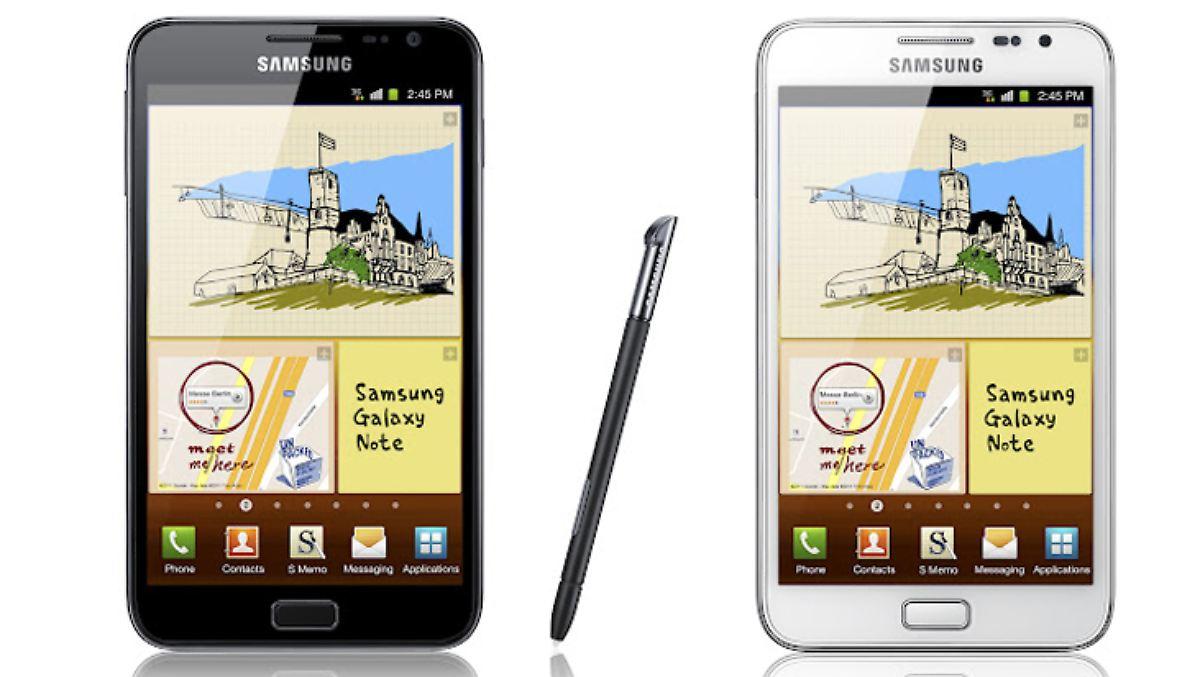 Stiftung Warentest testet Smartphones, Galaxy Note und ...