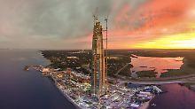 Umstrittenes Hochhaus-Projekt: Gazprom errichtet Rekord-Wolkenkratzer